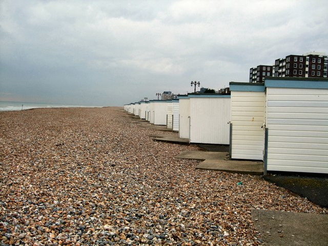 Beach Huts at Worthing