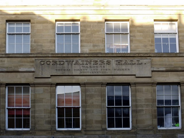 Cordwainer's Hall (detail), Nelson Street