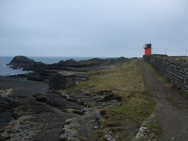 View to Scarlett Point along coastal path
