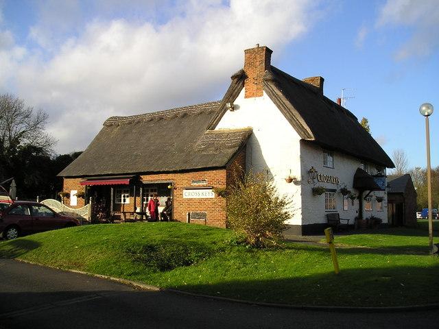 The Cross Keys Pub, Great Woolstone, Milton Keynes