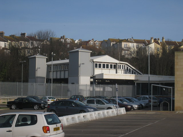 Hastings Station Footbridge