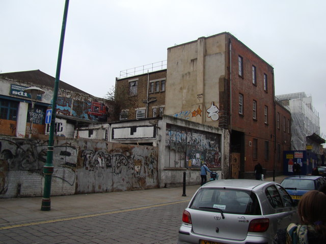 Graffiti galore on Osborn Street