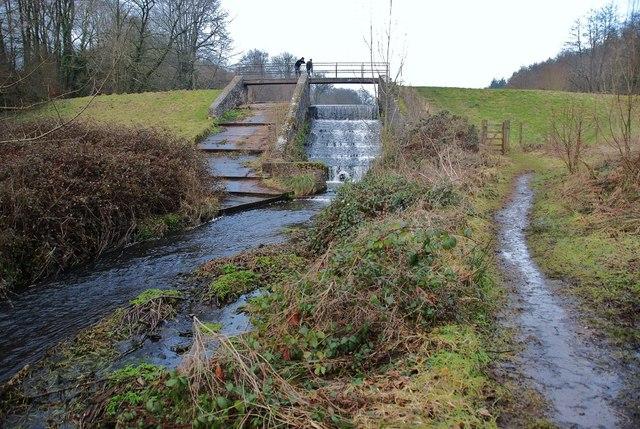Royston Water Weir