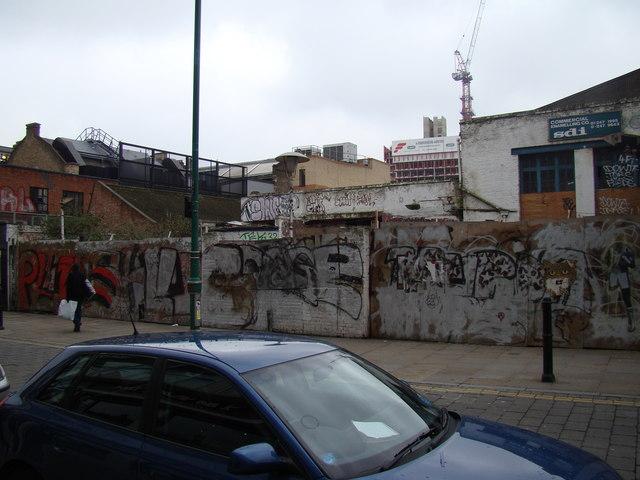 Graffiti galore on Osborn Street #2