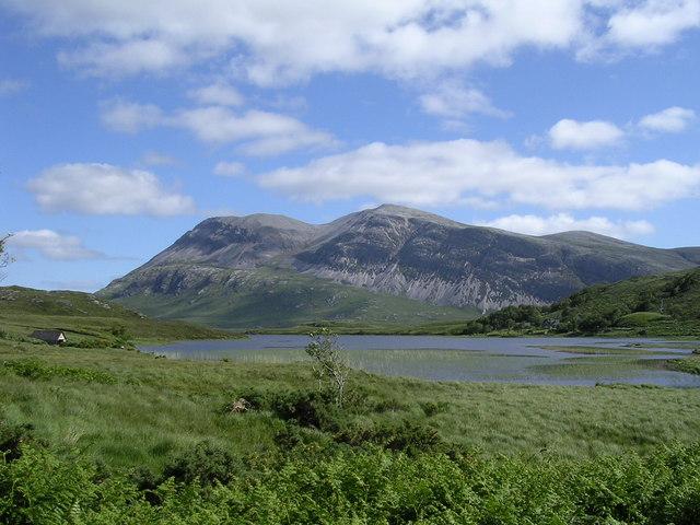 Arkle across Loch Stack