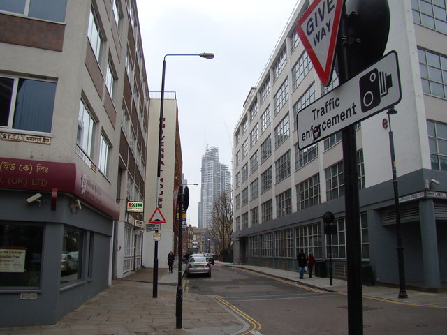 New building, viewed from Osborn Street