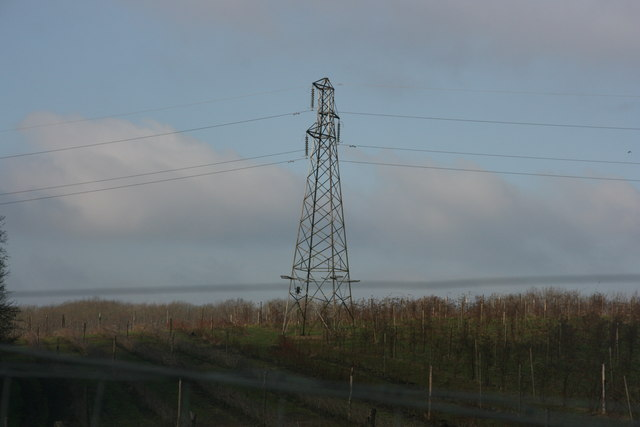 Pylon near Brambletye