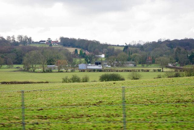 View towards Freshfield Mill Farm