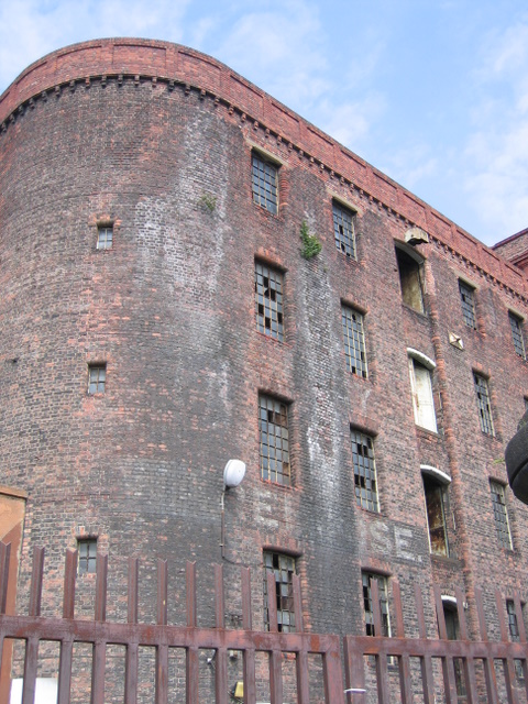 A corner of South Stanley Warehouse
