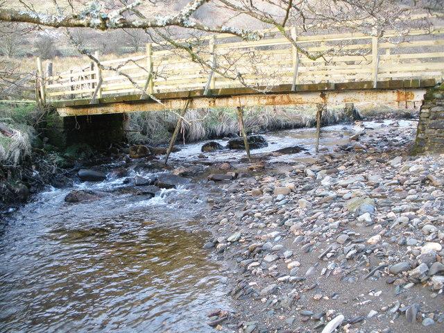 Bridge over the Allt a' Chaol Ghlinne