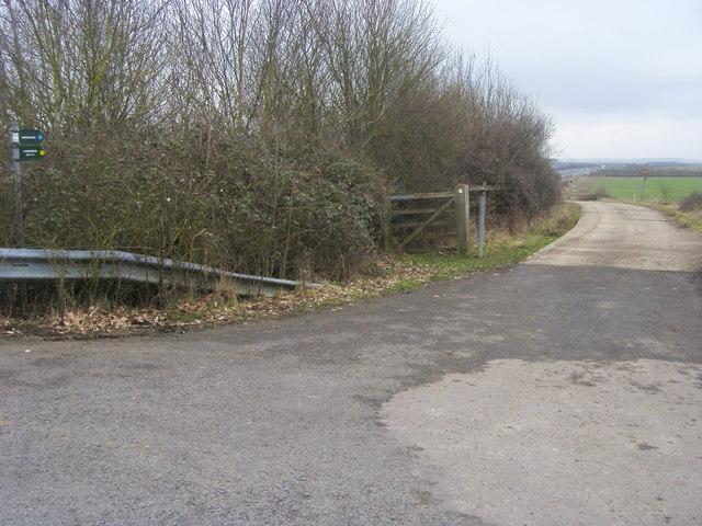 Bridleway by M40