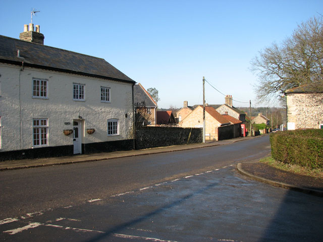 Junction of Church Avenue and The Street