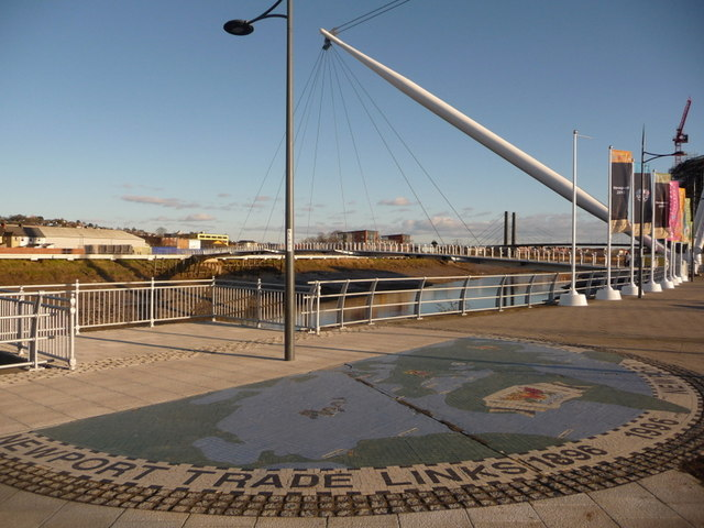 Newport: trade links mosaic