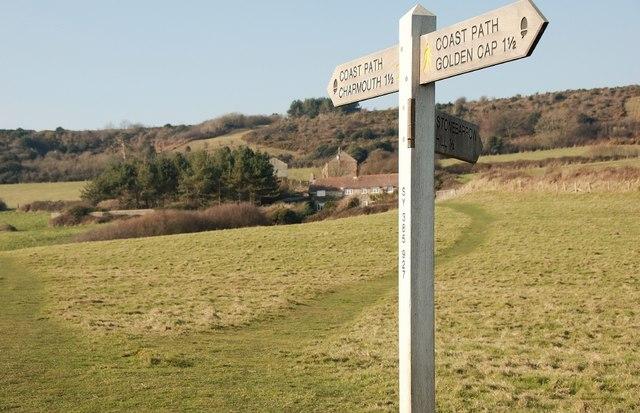 Stonebarrow Coast Path