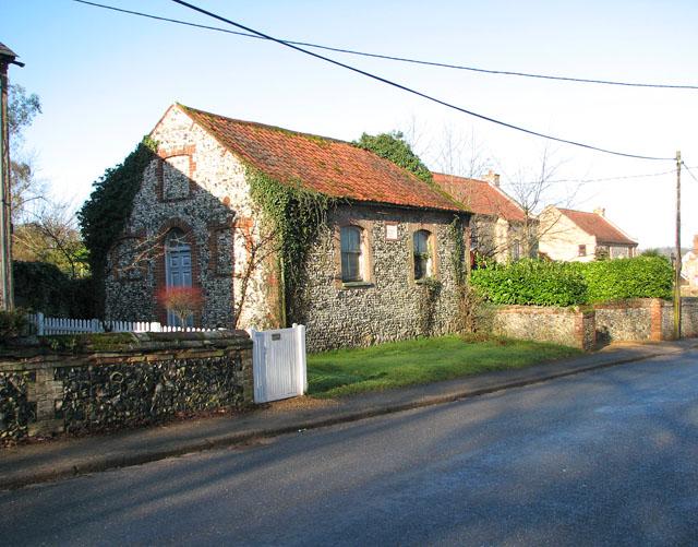 Tiny Primitive Methodist Chapel in The Street