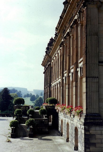 Chatsworth House: the south front