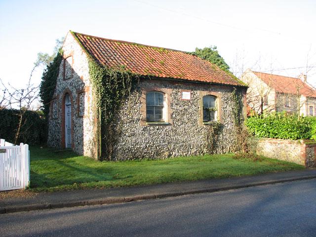 Primitive Methodist chapel in Croxton