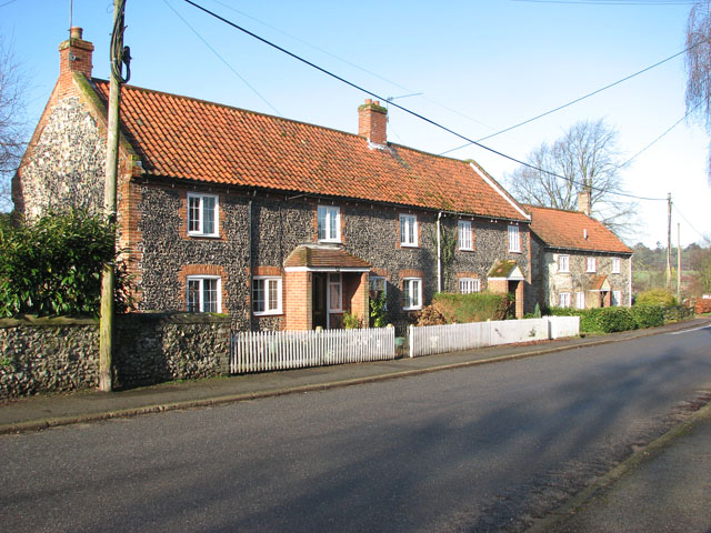 Terrace cottages in The Street