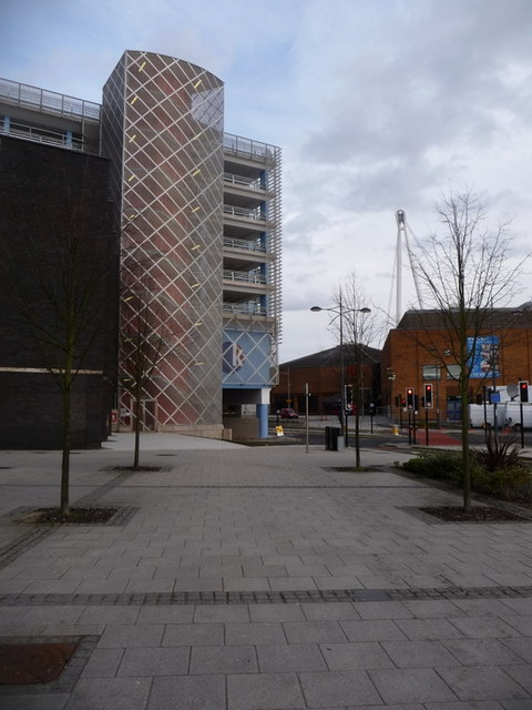 Newport: Kingsway and the new car park