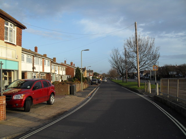 Dore Avenue running parallel to West Street