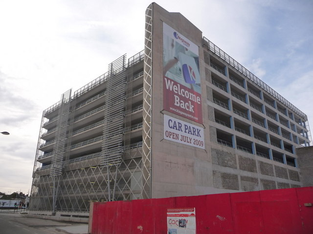 Newport: new Kingsway Centre car park