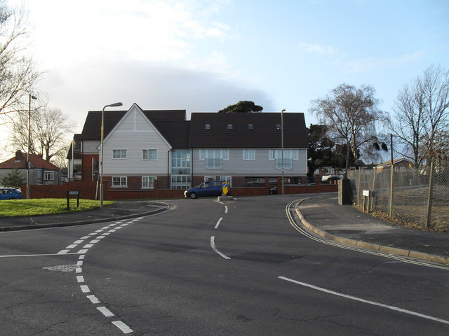 Junction of Dore Avenue and The Crossway