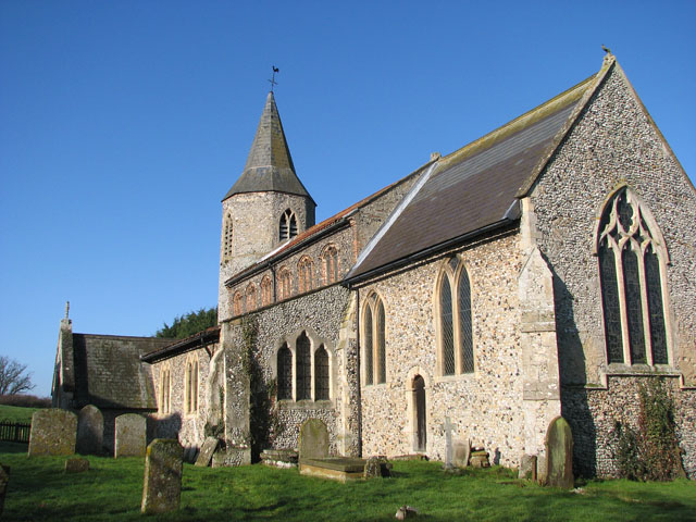 All Saints church viewed from the south-east