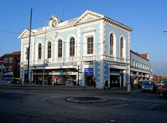 Market Hall (High Street frontage)