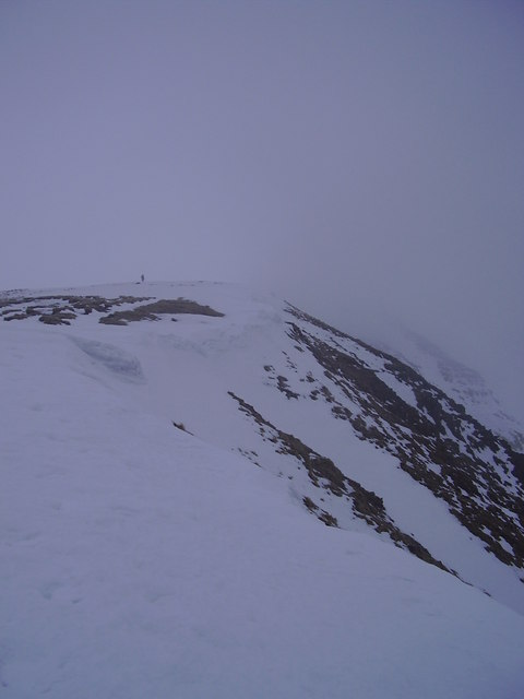 Looking back towards Fairfield.