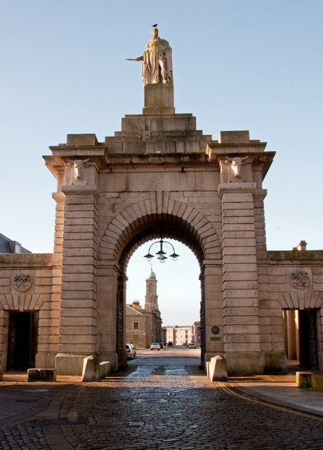 Gateway, Royal William Victualling Yard - Plymouth