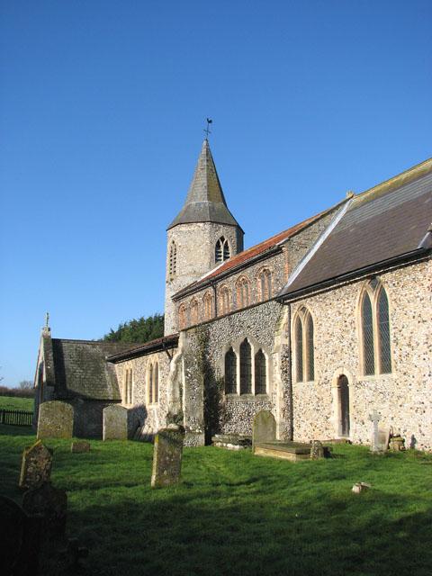 All Saints church - churchyard