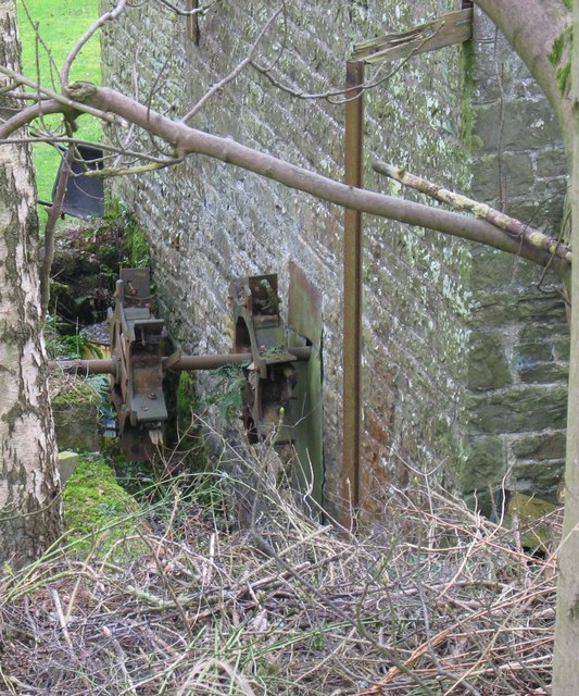 Remains of a Waterwheel, Crockley Mill