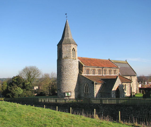 All Saints church viewed from the south-west