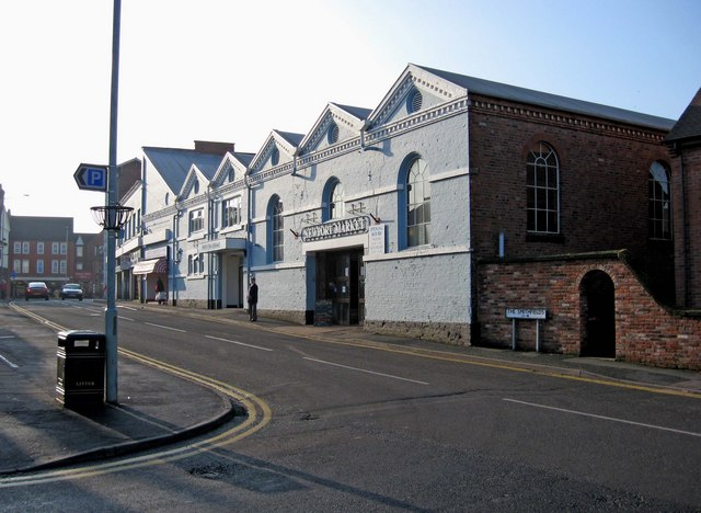 Market Hall (Stafford Street frontage)