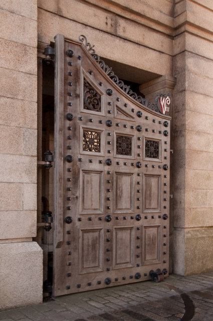 Door to Royal William Victualling Yard - Plymouth