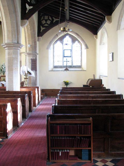 All Saints church - south aisle