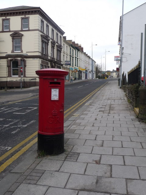 Newport: postbox № NP20 70, Bridge Street