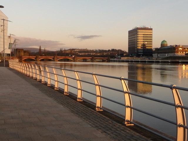 Newport: alongside the Usk