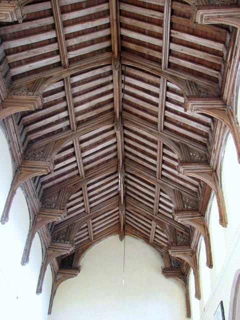 All Saints church - C15 hammerbeam roof