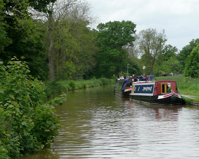 Shropshire Union Canal at Nantwich, Cheshire