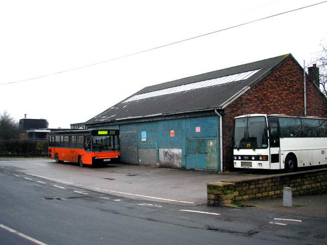 Barnoldswick:  Coach depot, West Close Road