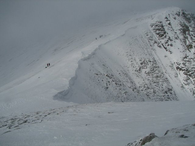 Cornice over Nethermost Cove