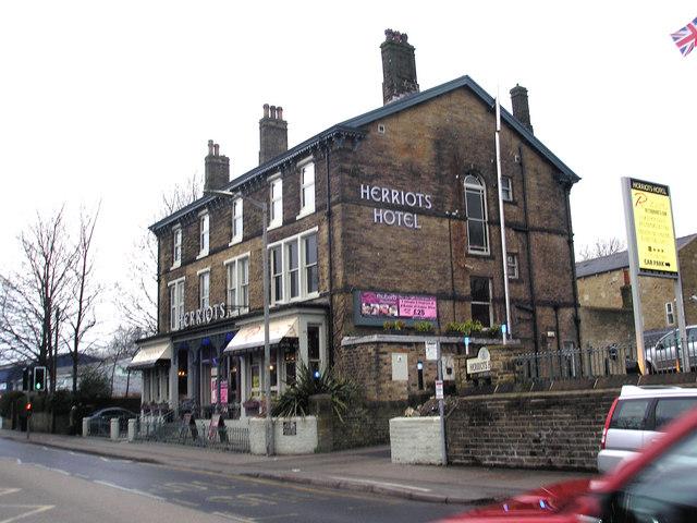 Skipton:  Herriots Hotel, Broughton Road