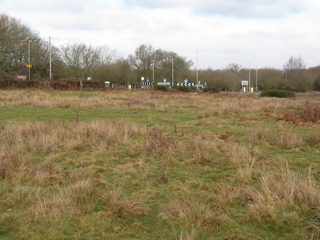 Roundabout between the B2112 and the B 2113