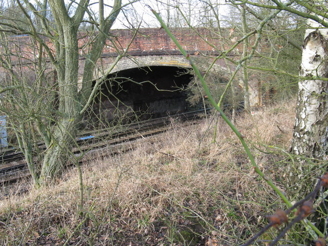 Bridge carrying the B 2112 over the Lewes to Burgess Hill line