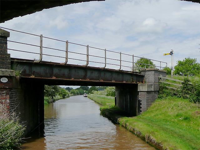Edleston Railway Bridge near Nantwich, Cheshire