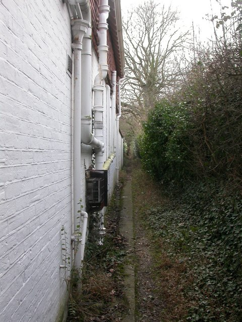 Battramsley, footpath