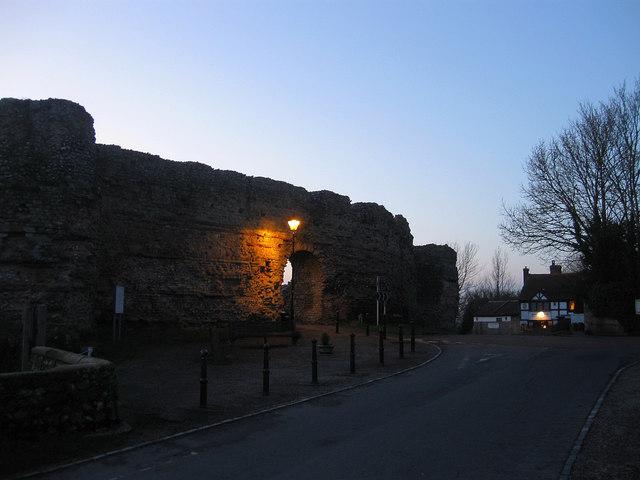 East Gate, Pevensey Castle