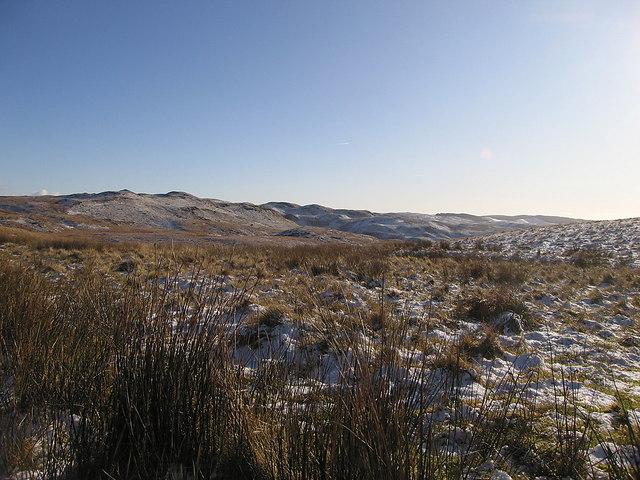 View across Cwm Rhydol
