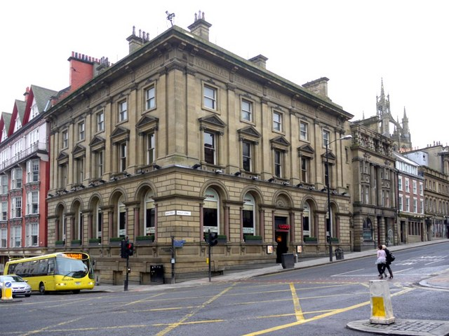 The corner of Dean Street and Mosley Street